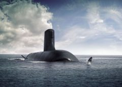 The nuclear attack submarine Suffren, the future arm of the French Navy, begins its sea trials