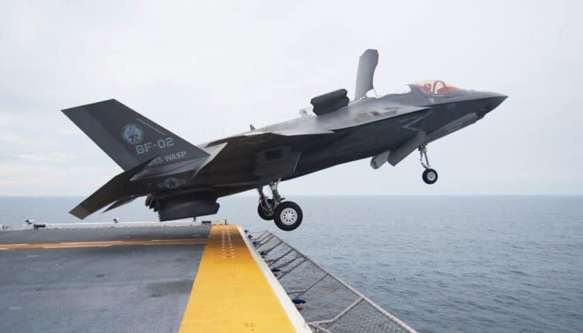 L'F-35B e l'F-35C non saranno in grado di condurre intercettazioni  supersoniche - Meta-Defense.fr