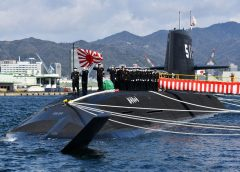 First submarine with high-performance lithium-ion batteries is operational in Japan