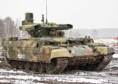 The Terminator-2 tank arrives in the Russian armies